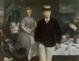 The Luncheon in the Studio | Manet | Painting Reproduction