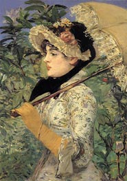 Jeanne - Spring | Manet | Painting Reproduction