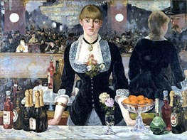 A Bar at the Folies-Bergere | Manet | Painting Reproduction