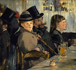 Au Cafe | Manet | Gemälde Reproduktion