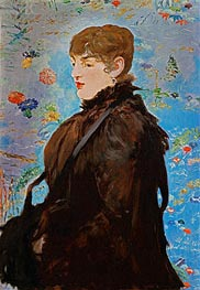 Autumn (Mery Laurent) | Manet | Painting Reproduction