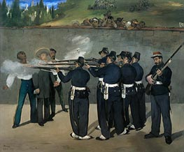 The Execution of the Emperor Maximilian | Manet | Painting Reproduction