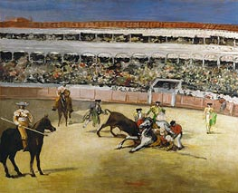 Bull Fight | Manet | Painting Reproduction