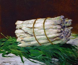 A Bunch of Asparagus | Manet | Painting Reproduction