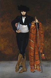 Young Man in the Costume of a Majo, 1863 von Manet | Gemälde-Reproduktion