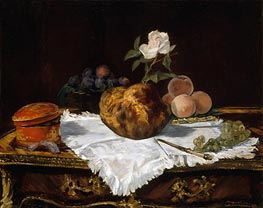 The Brioche | Manet | Gemälde Reproduktion