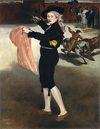 Mademoiselle V... in the Costume of an Espada, 1862 von Manet | Gemälde-Reproduktion