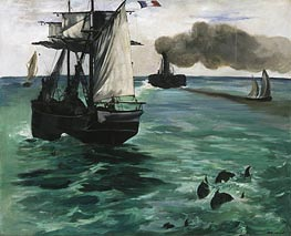 Marine View | Manet | Painting Reproduction