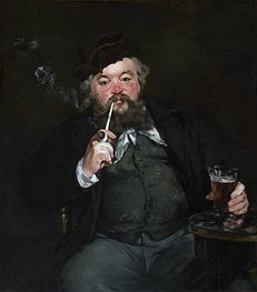 Le Bon Bock, 1873 by Manet | Painting Reproduction