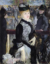 Skating, 1877 by Manet | Painting Reproduction