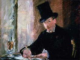 Chez Tortoni, c.1878/80 by Manet | Painting Reproduction