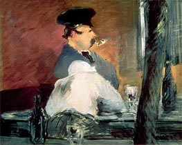 The Bar | Manet | Gemälde Reproduktion