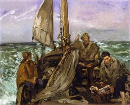 The Toilers of the Sea | Manet | Gemälde Reproduktion