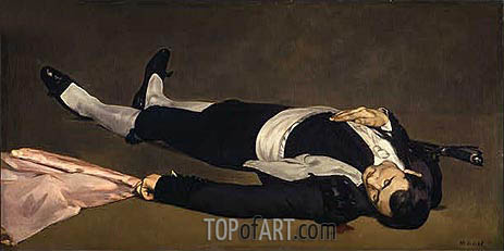 The Dead Toreador, c.1864 | Manet | Painting Reproduction