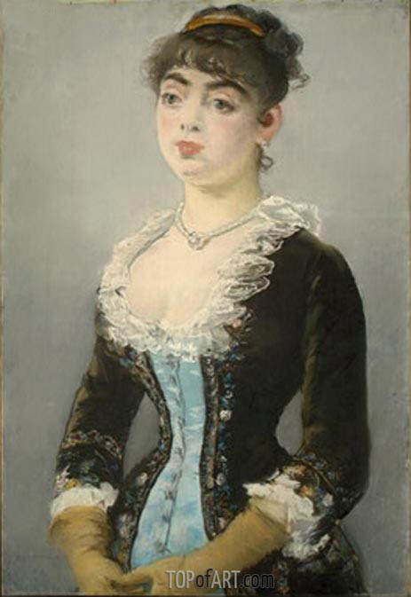 Madame Michel-Levy, 1882 | Manet | Painting Reproduction