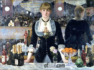 A Bar at the Folies-Bergere, c.1881/82 | Manet | Gemälde Reproduktion