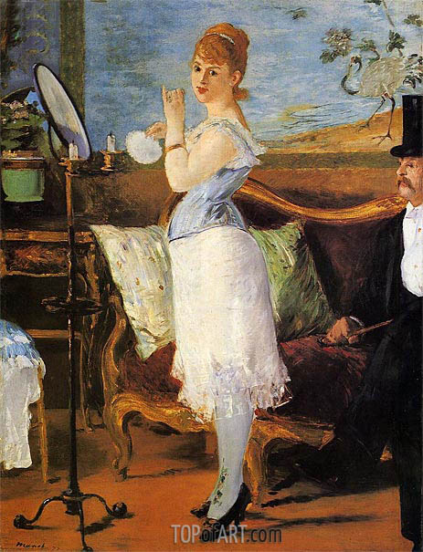 Nana, 1877 | Manet | Painting Reproduction