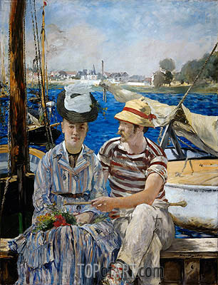 Argenteuil, 1874 | Manet | Painting Reproduction
