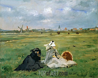 The Swallows, 1873   Manet   Gemälde Reproduktion