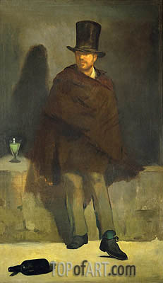The Absinthe Drinker, c.1858/59 | Manet | Painting Reproduction