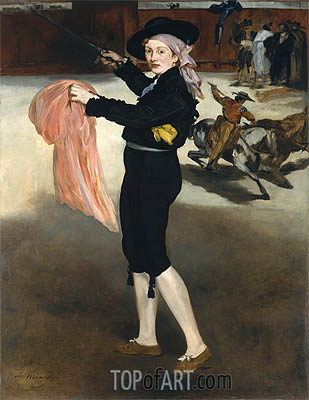 Mademoiselle V... in the Costume of an Espada, 1862 | Manet | Gemälde Reproduktion