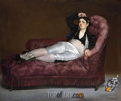 Young Woman Reclining in Spanish Costume, c.1862/63 | Manet | Gemälde Reproduktion