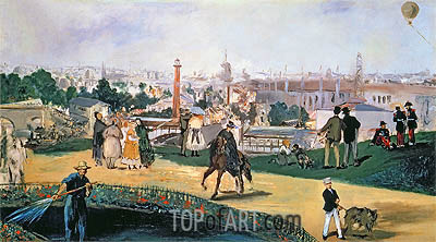 The Exposition Universelle, 1867 | Manet | Gemälde Reproduktion