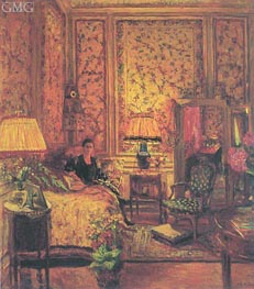 The 'Voiles de Genes' Boudoir, 1931 by Vuillard | Painting Reproduction