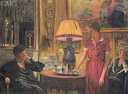 The Visit | Vuillard | Gemälde Reproduktion