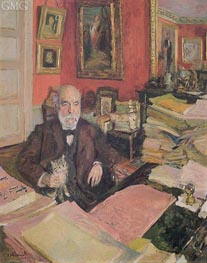 Portrait of Theodore Duret, 1912 by Vuillard | Painting Reproduction