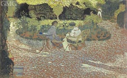 In the Garden, c.1894/95 by Vuillard | Painting Reproduction