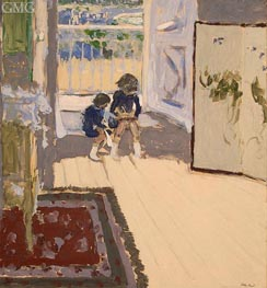 Children in a Room, c.1909 by Vuillard | Painting Reproduction