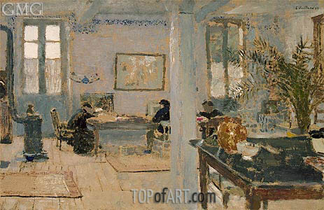 In a Room, 1899 | Vuillard | Painting Reproduction