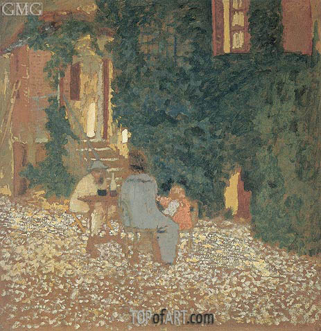 Repast in a Garden, 1898 | Vuillard | Painting Reproduction