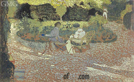 In the Garden, c.1894/95 | Vuillard | Painting Reproduction