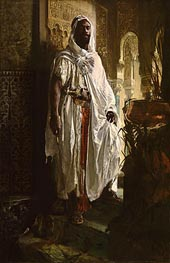 The Moorish Chief, 1878 by Eduard Charlemont | Painting Reproduction