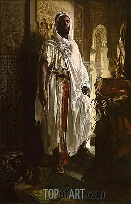 The Moorish Chief, 1878 | Eduard Charlemont | Painting Reproduction