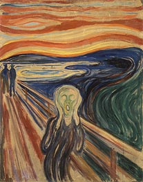 The Scream, 1910 by Edvard Munch | Painting Reproduction