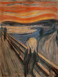 The Scream, 1893 by Edvard Munch | Painting Reproduction