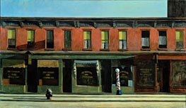 Early Sunday Morning, 1930 von Hopper | Gemälde-Reproduktion