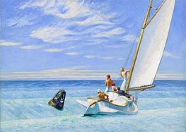 Ground Swell | Hopper | Painting Reproduction