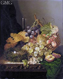Still Life with a Bird's Nest | Edward Ladell | Gemälde Reproduktion