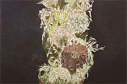 Chrysanthemen | Schiele | Gemälde Reproduktion