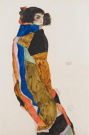 Moa, 1911 by Schiele | Painting Reproduction