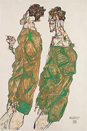 Devotion | Schiele | Painting Reproduction