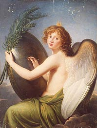 Genius of Alexander I | Elisabeth-Louise Vigee Le Brun | Painting Reproduction