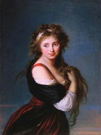 Hyacinthe Gabrielle Roland, Marchioness Wellesley, 1791 by Elisabeth-Louise Vigee Le Brun | Painting Reproduction
