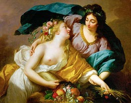 Peace Leads Abundance | Elisabeth-Louise Vigee Le Brun | Painting Reproduction