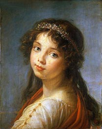 Portrait of the Artist's Daughter | Elisabeth-Louise Vigee Le Brun | Painting Reproduction