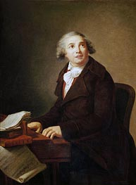 Portrait of Giovanni Paisiello | Elisabeth-Louise Vigee Le Brun | Painting Reproduction